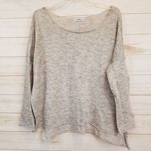 Zara Women's soft gray sweater size small